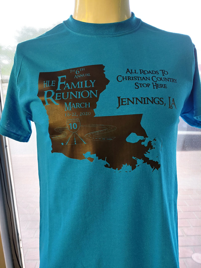 6th Annual Family Reunion TShirt